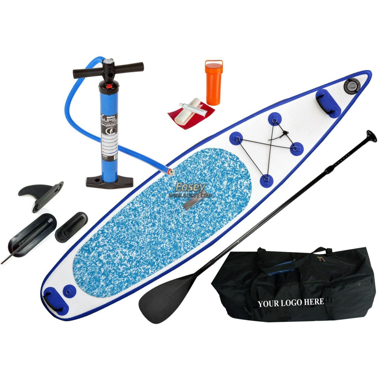China Inflatable racing sup board, foam stand up paddle board on sale
