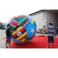 Super Quality Big Inflatable Giant Soccer Ball PVC Football Model for Advertising Manufactures