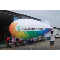 China Advertising Parade Inflatable Blimp Shape Zeppelin Helium Balloon on sale