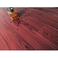 Buy cheap Wine Red Bamboo Fiber Wood Style Ceramic Tile For Administration , Household from wholesalers