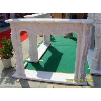 Buy cheap Fireplace & Sink White Marble from wholesalers
