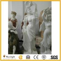 China Culture Stone Western White Marble Carving Statue on sale