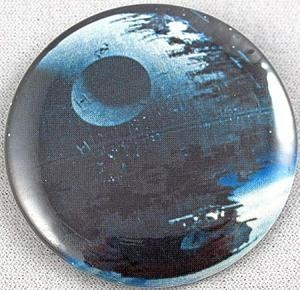 """Quality Star Wars Death Star Button 2"""" for sale"""