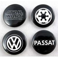 2011 Star Wars SD Comic Con VW Set 4 Buttons w/ Imperial Logo Manufactures