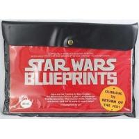 1977 Star Wars 15 Blueprints Sealed in Pouch Manufactures