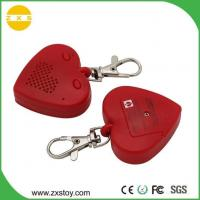 Buy cheap ABS Mini Heart Shape Sound Voice Recordable Keychain Used Gift Dog Tracker from wholesalers