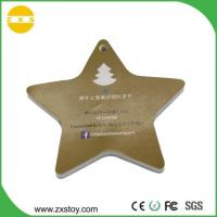Buy cheap Cartoon Mini Japan EVA Five Star Shaped Paper Musical Cards for Christmas from wholesalers