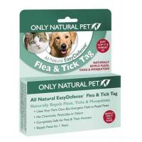 Dogs Only Natural Pet EasyDefense Flea & Tick Tag Two-Pack