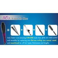 Electric Magic Hot Hair Styling Curling Iron Comb (A8128) Manufactures