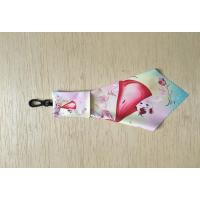 Microfiber Glasses Cleaning Cloth With Keychain Pouch Manufactures