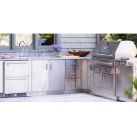 China Outdoor Kitchen Cabinets Stainless Steel on sale