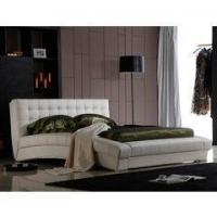 China Biscayne West Sand Upholstered Canopy Bed by Michael Amini on sale
