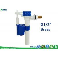 China Side Entry Toilet Cistern Fill Valve / Inlet Valve , Quick To Shut Off on sale