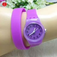 China Design Your Own Clear Plastic Watches Holder Women Ladies Bracelet Watch for Small Wrists Online on sale