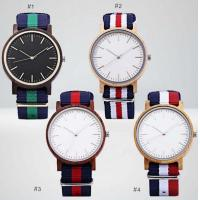 Bewell Nylon Strap Cheap Price Real Wood Watch Custom Logo Manufactures