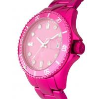 Ladies Womens Plastic Watches with Different Colors of Dials and Straps