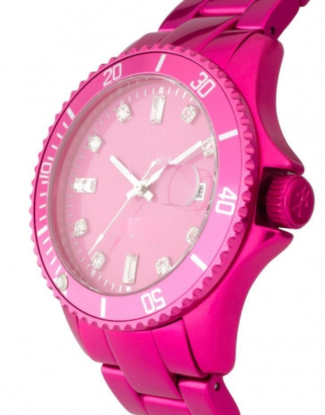 Quality Ladies Womens Plastic Watches with Different Colors of Dials and Straps for sale