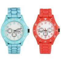 Bright Color Jelly Rubber Strap Trendy Girls Womens Fashion Plastic Sport Watches Manufactures