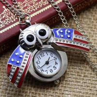 Buy cheap Unique Owl Antique Vintage Mini Pendant Pocket Watches on Chain from wholesalers