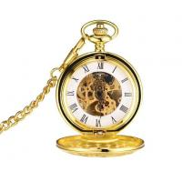 Buy cheap String Gold Chain for Pocket Watch See Through Mechanical All Gold Pocket Watches from wholesalers