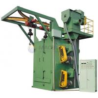 Buy cheap double hooks type shot blasting machine from wholesalers