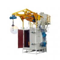 Buy cheap double hooks type airless shot blasting machine from wholesalers