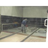 Buy cheap wet sandblasting booth from wholesalers