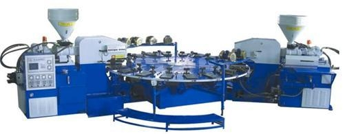 Quality Two-Color Soles Injection Moulding Machine for sale