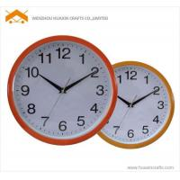 25cm plastic wall clock Manufactures