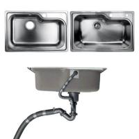 Undermount Kitchen Bathroom Sinks With Single Bowl Brushed Metal Material Manufactures