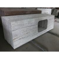Buy cheap Gray Thick Stone Slab Countertop Stone Vanity Tops 108