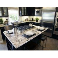 Modern Stone Slab Countertop Kitchen Designs White Rose Granite Countertop Manufactures