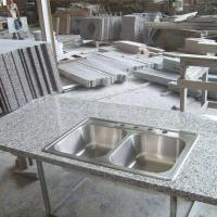 High Density Granite Stone Countertops G603 , Granite Kitchen Counter Tops Manufactures