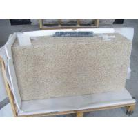 Rustic Yellow Colored Granite Stone Slab Countertop For Kitchen Showroom Manufactures