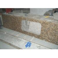 Baltic Gold Granite Stone Slab Countertop Solid Surface Vanity Tops For Bathroom Manufactures