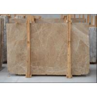 Light Cream Engineered Stone Countertop , Polished Marble Tile Kitchen Countertops Manufactures