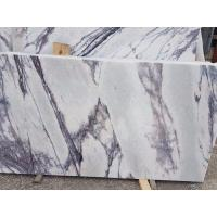 Living Room Stone Slab Countertop Calacatta Marble Worktop Crystal White Manufactures