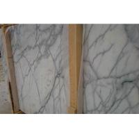 Buy cheap Honed Carrara Marble Laminate Worktop , Custom Made Marble Table Top from wholesalers