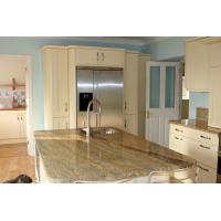 Indian Kashmir Gold Granite Slab Countertops Counter Kitchen Tops 30mm Thickness Manufactures