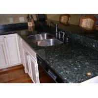Custom Kitchen Granite Slab Countertops Butterfly Green Color Polish Finished Manufactures