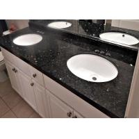 Emerald Pearl Custom Made Blue Granite Slab Countertops 20mm Thickness Manufactures
