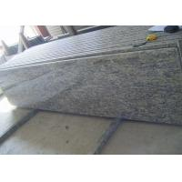 Brazil Nature Giallo Cecilia Granite Slab Countertops Bullnose With Laminated Edge