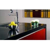Artificial Stone Slab Countertop Black Galaxy Quartz Stone Kitchen Countertop SGS Approved Manufactures