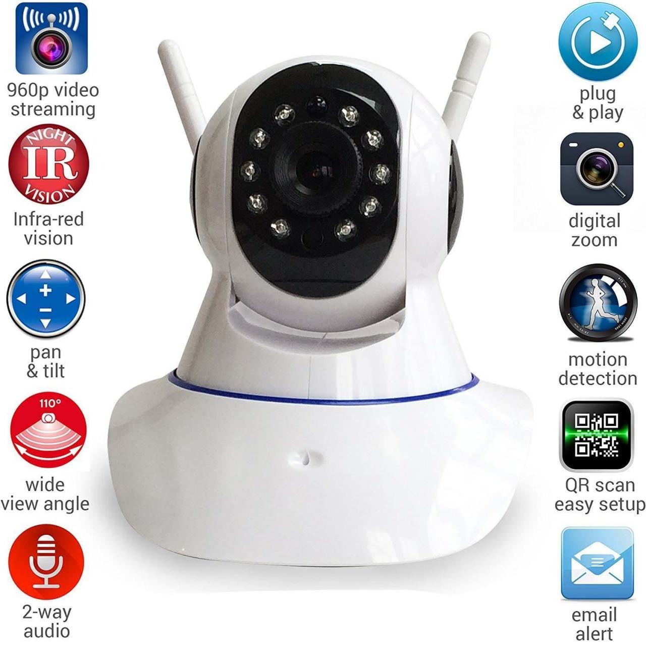 CCTV Security Camera WIFI Pan Tilt IP Camera (ATPT-YS11) Manufactures