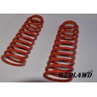 Red 4X4 Leveling Lift Kit Suspension Coil Spring Parts For Jeep Cherokee XJ
