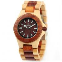 Quality Fashion Personality Man Wooden Watch for sale