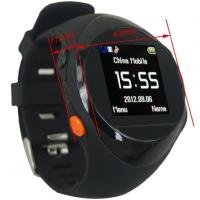 Wholesale GSM Watch Phone GPS 1.44 LCD Tracking Positioning Wristband Watches Manufactures