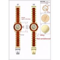 Buy cheap Wholesale Brands Full Automatic Wood Watches For men from wholesalers
