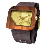 wholesale Men's Wooden Watch Quartz Wood Analog Date Natural Wood Watches