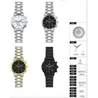 High Quality Stainless Steel Chronograph Watch Design